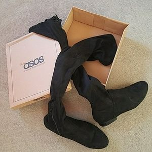 ASOS Flat Over the Knee Boot